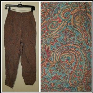 Gap Vintage Boho Hippy Pants 5/6 High - Waisted